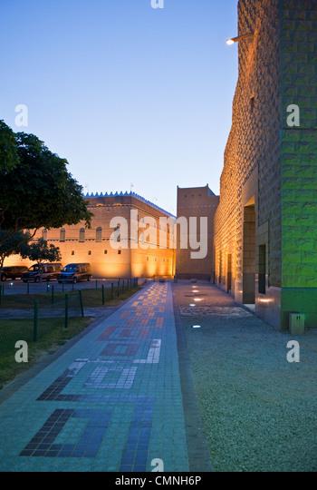 Asia Saudi Arabia Riyadh Murabba Palace - Stock Image