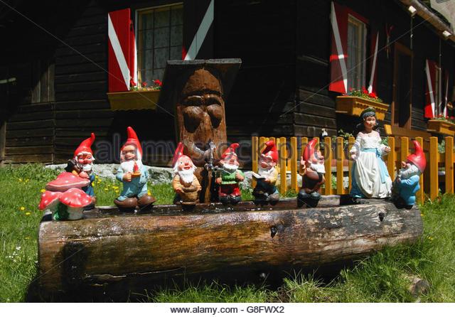 Garden Gnomes Dwarves Stock Photos Garden Gnomes Dwarves