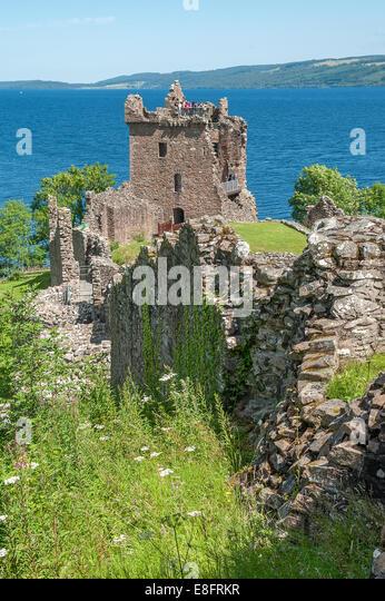Urquhart Castle - Stock Image