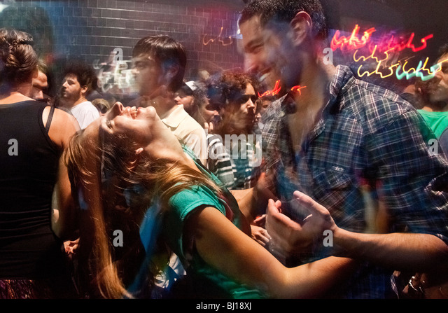 Zizek Electro, Cumbia and Reggaeton party at Niceto Club, Buenos Aires - Stock Image