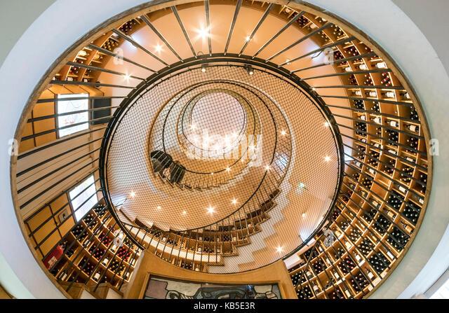 Famous wine shop L Intendant, Allees Tourny, Bordeaux, France - Stock Image