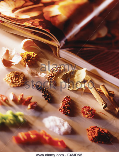 Still of worldly spices - Stock Image