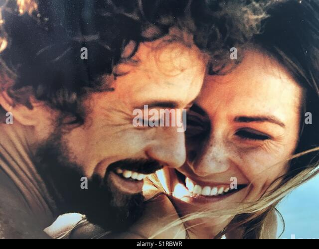 Pure joy - Stock Image