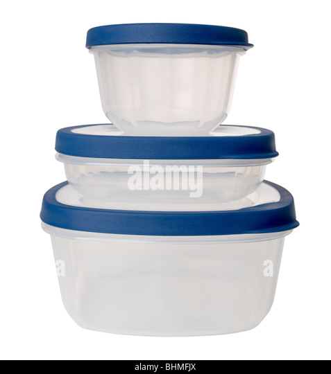 Plastic Container - Stock Image