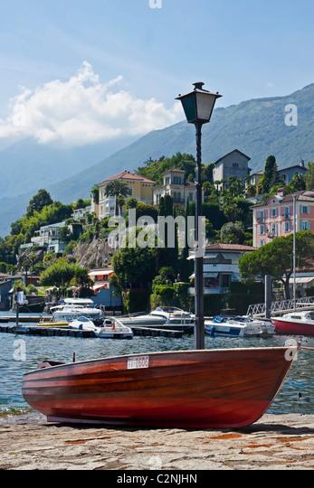 Boat in Ascona - Ticino - Stock-Bilder