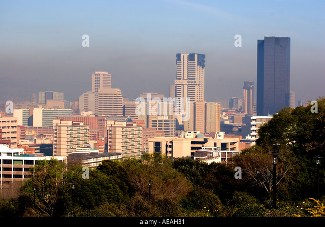 Pretoria City CBD - Stock Image