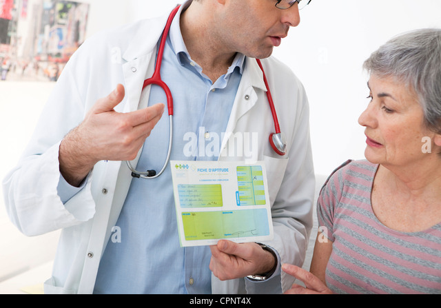 OCCUPATIONAL MEDICINE - Stock Image