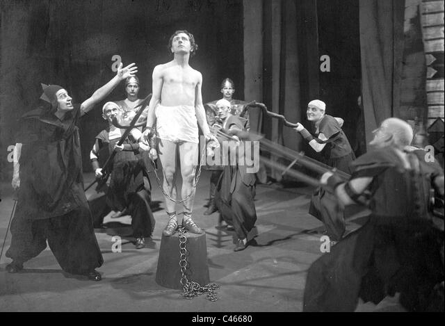 Scene from 'The Legend of Joseph' by Richard Strauss, 1921 - Stock Image