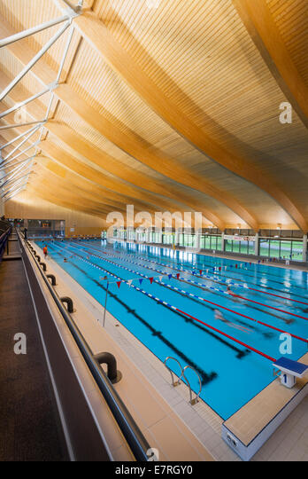 Indoor swimming pool uk stock photos indoor swimming Mountbatten swimming pool portsmouth