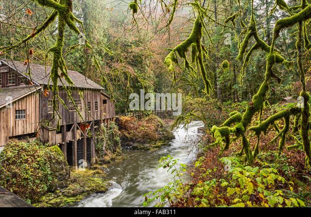 Cedar creek grist mill stock photos cedar creek grist for The cedar mill