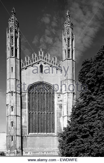 King's College Chapel Cambridge - Stock Image