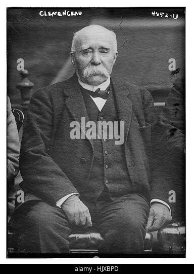 Clemenceau - Stock Image