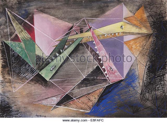 Hunger. Artist: Varo, Remedios (1908-1963) - Stock Image