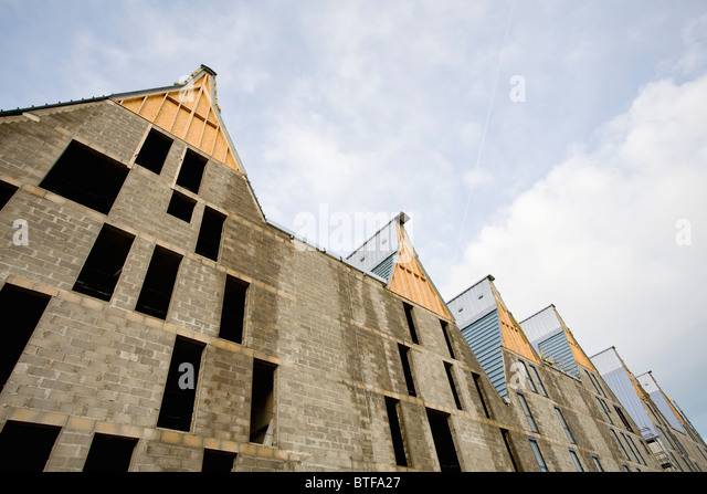 Buildings under construction - Stock Image
