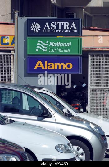 Alamo car rental return lax airport 10