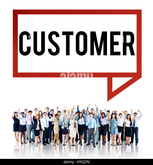 Customer Purchaser Satisfaction Consumer Service Concept - Stock Image