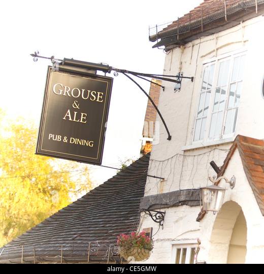 English pub sign - Stock Image