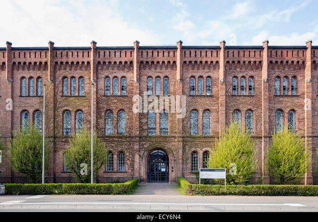 Main building of the architecture department, Jade University, Oldenburg, Lower Saxony, Germany - Stock Image