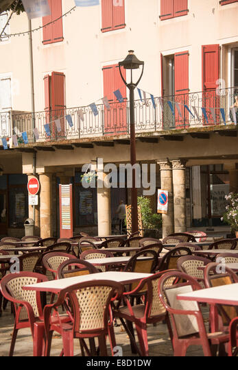 Place du Marechal Foch; Millau; Aveyron; France - Stock Image