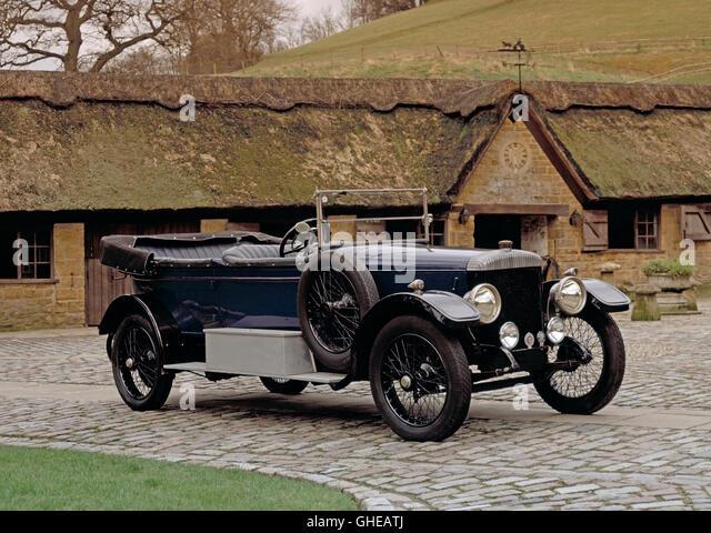 1922 Daimler 30HP 5.0 litre 2 door tourer. - Stock Image