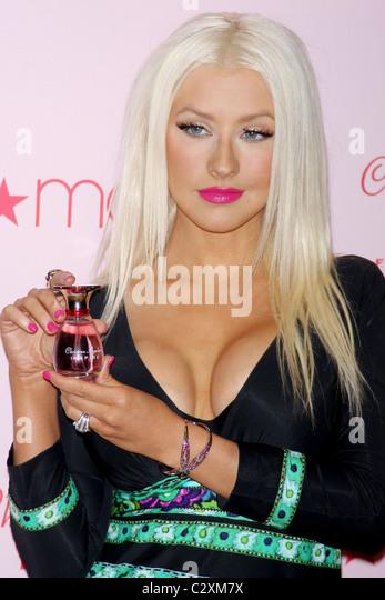 Christina Aguilera Perfume Inspire Stock Photos ...