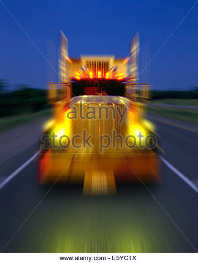 speeding-truck-on-night-delivery-in-onta