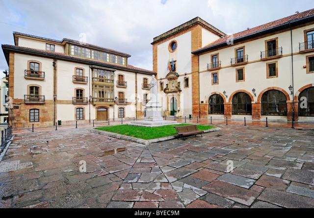 Department of Psychology, university, Plaza de Feijoo, Oviedo, Asturias, Spain, Europe - Stock Image