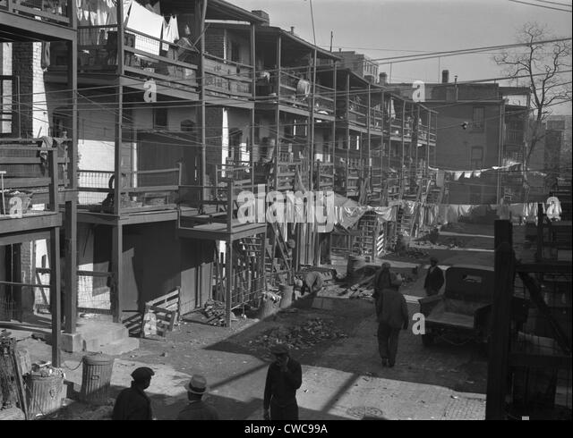 Great depression 1930s stock photos great depression for Great american homes