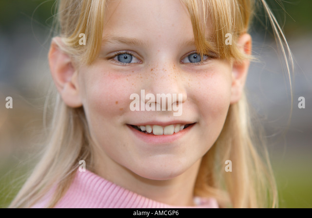 Portrait of Tess - Stock Image