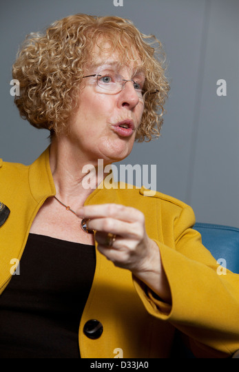 Margaret Burgess MSP, Scottish Government Minister for Housing and Welfare - Stock Image