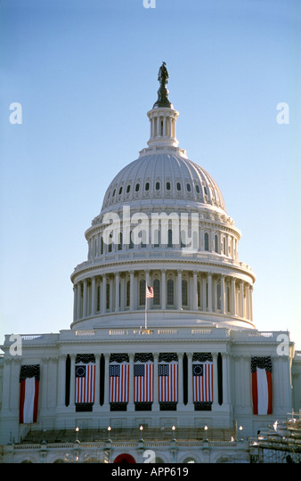 Capitol building dome Washington D.C. - Stock Image