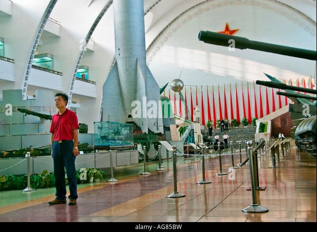 Beijing CHINA, Monuments Museums 'The Military Museum of Chinese People's Revolution' Interior Main - Stock Image