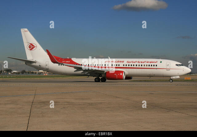 AIR ALGERIE ALGERIA 737 800 - Stock Image