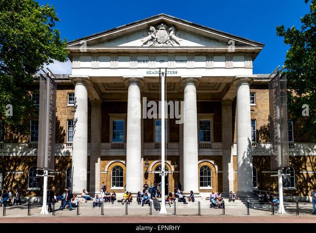 The Saatchi Gallery, Duke of York's Headquarters, London, England - Stock Image