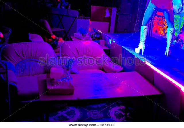 Karaoke bar, Bangkok, Thailand. - Stock Image