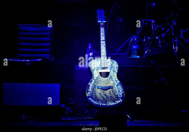 Simple Minds live in Concert, Hamburg, Germany - Stock-Bilder