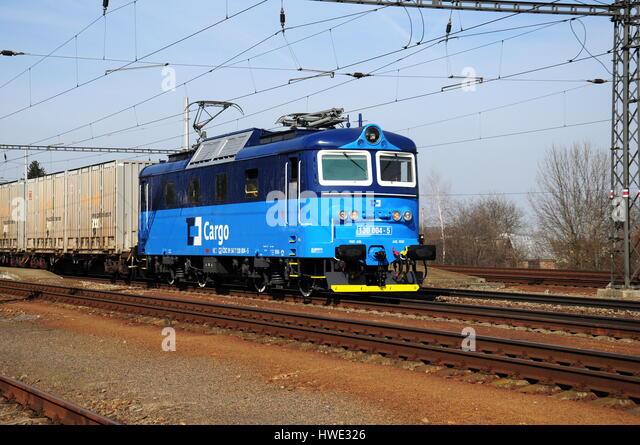 Rail freight, train, transport, locomotive - Stock-Bilder