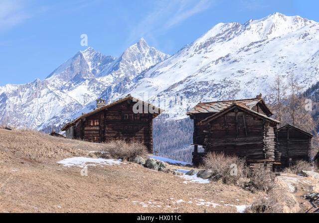 Blatten, Zermatt, Valais, Switzerland, Europe - Stock-Bilder