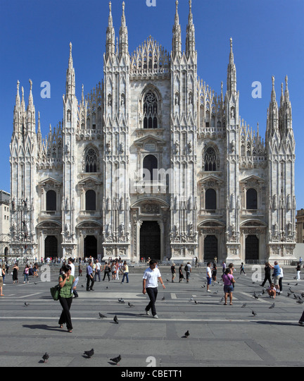 Italy, Lombardy, Milan, Duomo, cathedral, - Stock Image