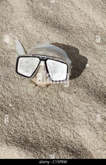 Anthropoid face diving mask - Stock-Bilder