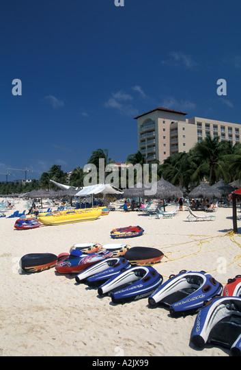 Aruba Palm Beach Boats Hotel - Stock Image
