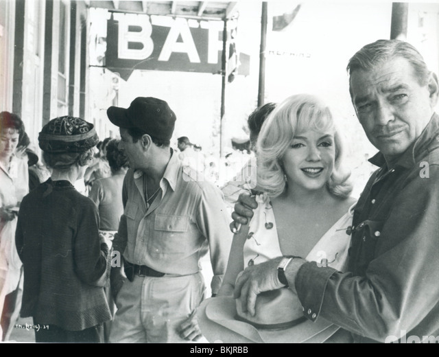 THE MISFITS (1961) MARILYN MONROE, CLARK GABLE MSFT 001P - Stock Image