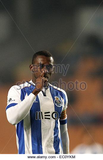PORTUGAL, Coimbra: Porto's Colombian forward Jackson Martinez during Premier League 2014/15 match between Académica - Stock Image