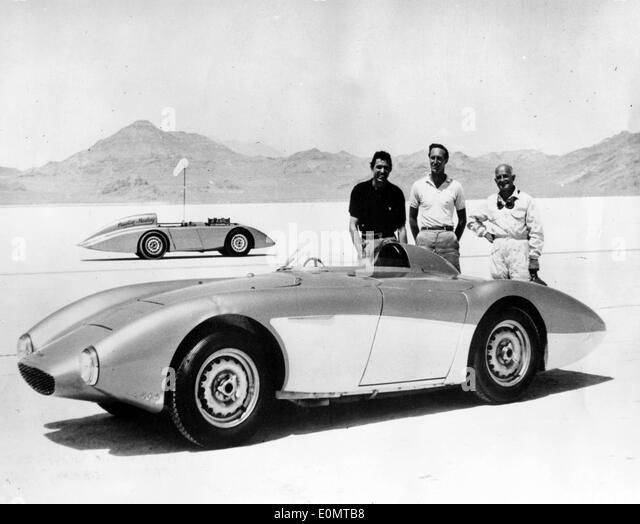 File Photo - CARROLL SHELBY (Jan 11, 1923-May 10, 2012), one of the biggest legends in the car industry and a champion - Stock Image