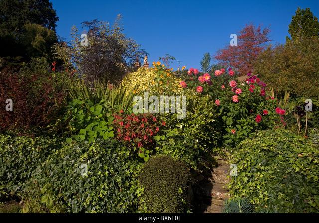 Mill Garden, Warwick, Warwickshire, England - Stock Image