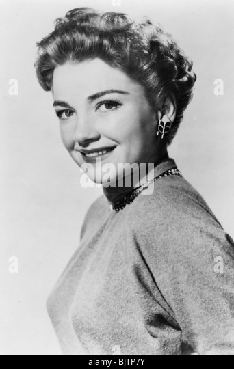 Anne Baxter, American actress, 20th century. - Stock Image