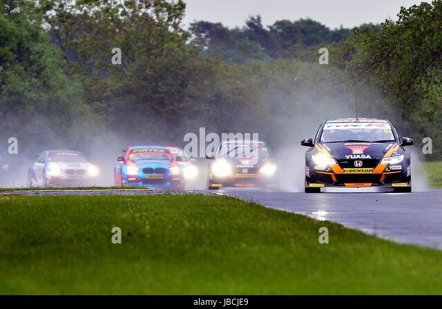 Dalton On Tees, UK. 10, June, 2017. Colin Turkington car number 4, the BMW 125i Sport, for Team BMW, Matt Simpson - Stock Image