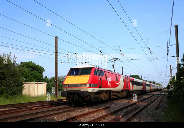 speed of virgin trains in uk