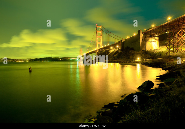 The Golden Gate Bridge, San Francisco, California, USA - Stock-Bilder