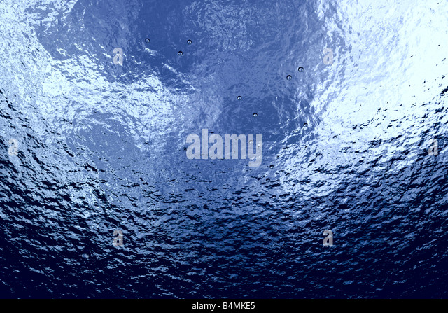 Underwater concept Tropical sea 3D rendered picture - Stock-Bilder